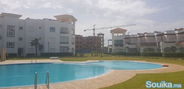 appartements 90m vue mer piscines