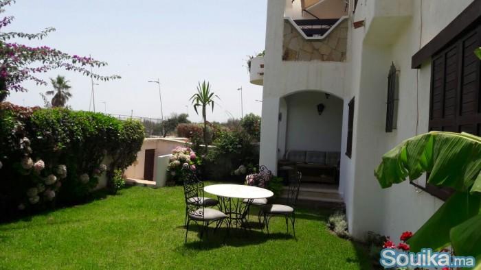App. à Cabo Negro avec jardin privé