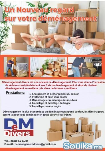 déménagement particulier et entreprise