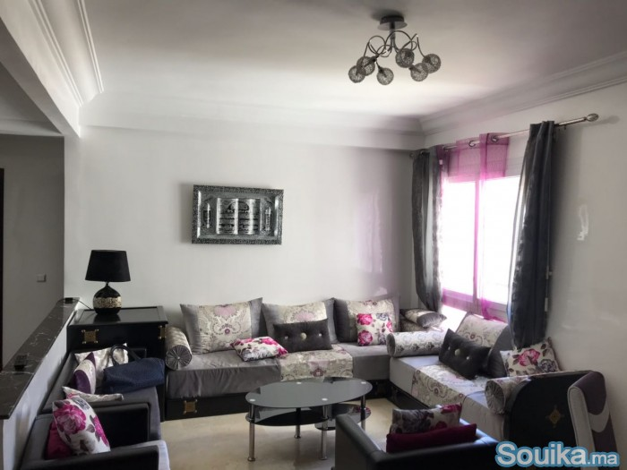 appartement tout bien équipé avec meubles moderne