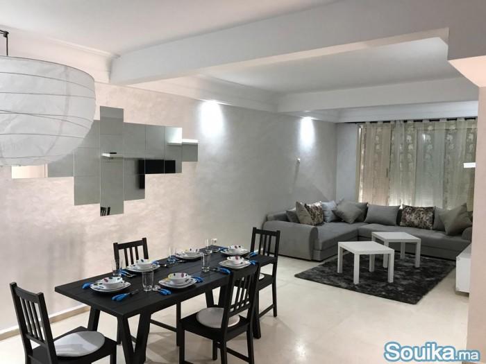 appartement entièrement décoré