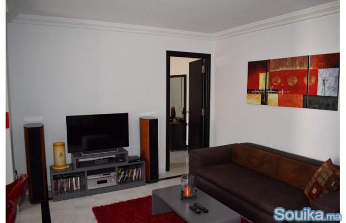 joli appartement décoré à nejma