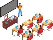 enseignante des maths et stagiaires
