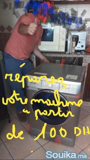 Reparation de la machine à laver