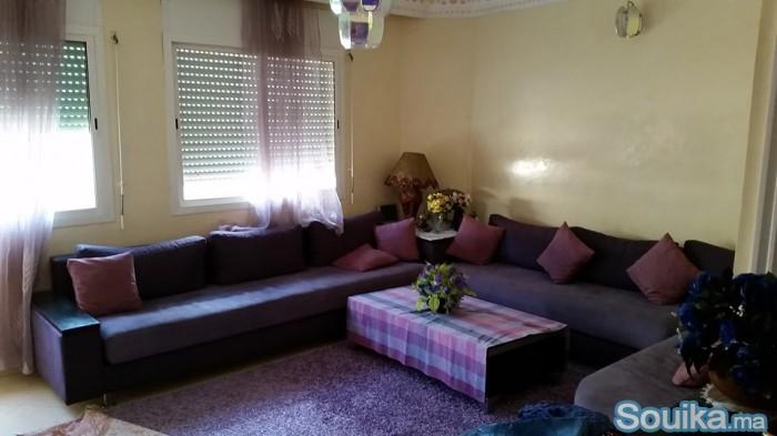Maison de 124 m2 -hay hassani-sid elkhadir