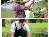 Jardinier gardien