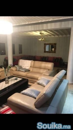 Villa neuve avec piscine à louer à Hay Riad RABAT