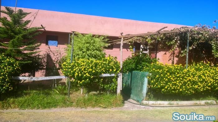 Très belle ferme titrée à 17 km de Marrakech