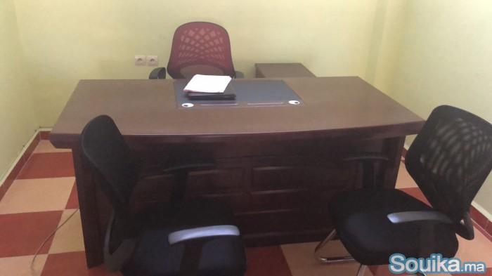bureaux en boismétal