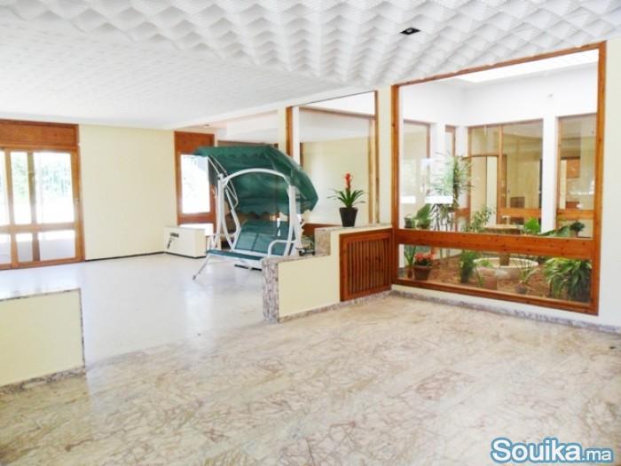 Location villa à Souissi Rabat