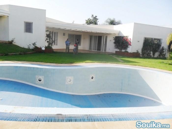 location dune villa avec chauffage à Souissi