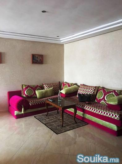 Un appartement meublé à louer situé à Hay Mouhamma