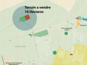 Terrain de 16ha á vendre Coté Aeroport M5 Nouaceur