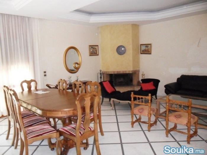 A louer villa à Hay Riad Rabat