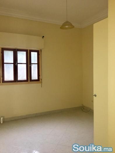 Location appartement de 100 m prés du Q. Hassan 1