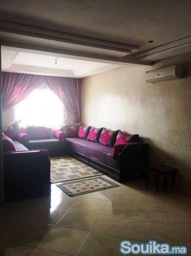 Un appartement meublé à louer à Hay Mouhammadi