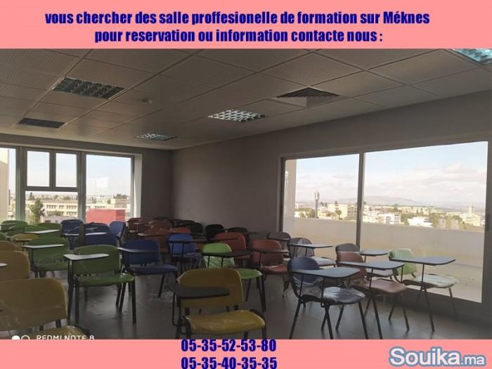 LOCATIONS DES SALLE PROFESSIONNELLE SUR MEKNÉS