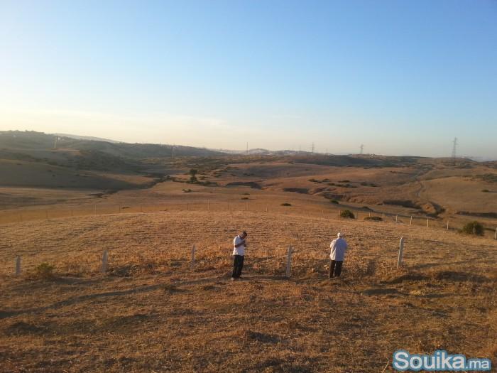 grand terrain 5400 m2 investissement Tanger
