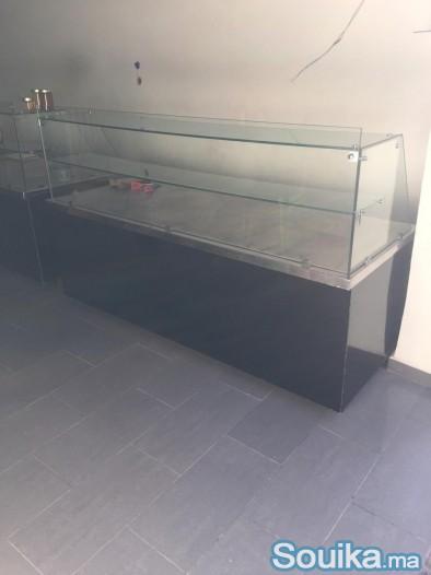 comptoir inox