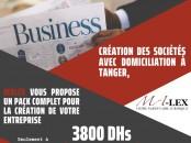 Création de société à Tanger avec domiciliation