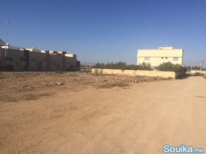 Terrain de 1500 m2 Titree à oujda