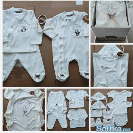 Pack vetements pour bébé