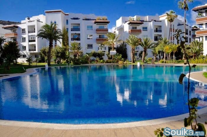 Lux appartement a louer a la journée Marina Agadir