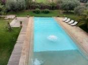 villa en location sur 1 hectare