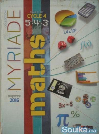 Manuels Math Programme français