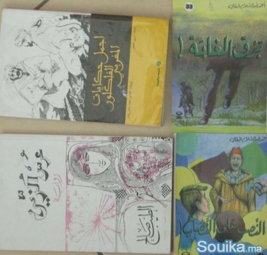Romans scolaires anglais français arabe