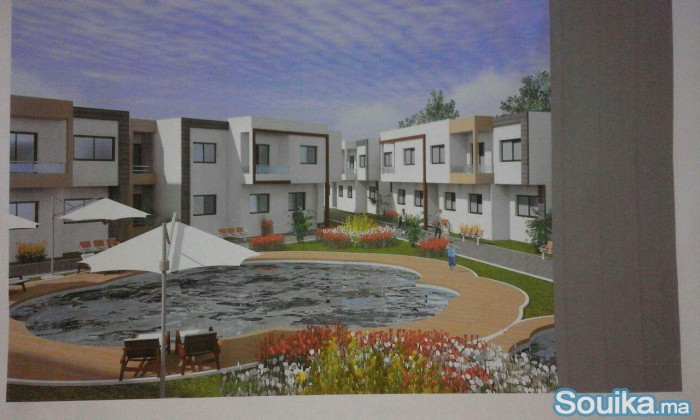 Appartement a vendre 70 m avec piscine
