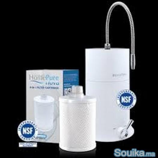 Filtre d'eau non électrique