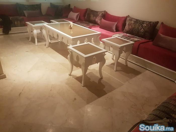 Salon Complet avec table à manger