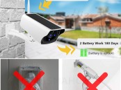 WIFI IP Camera Solaire 1080P HD Outdoor Rechargea