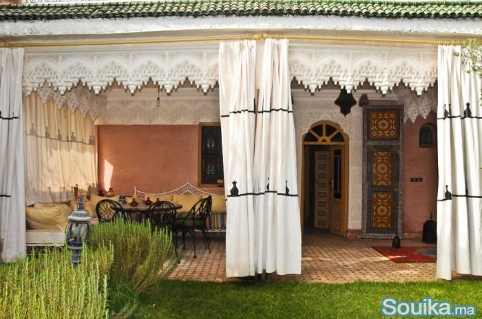 Ferme titrée à 26 km de Marrakech route de fes