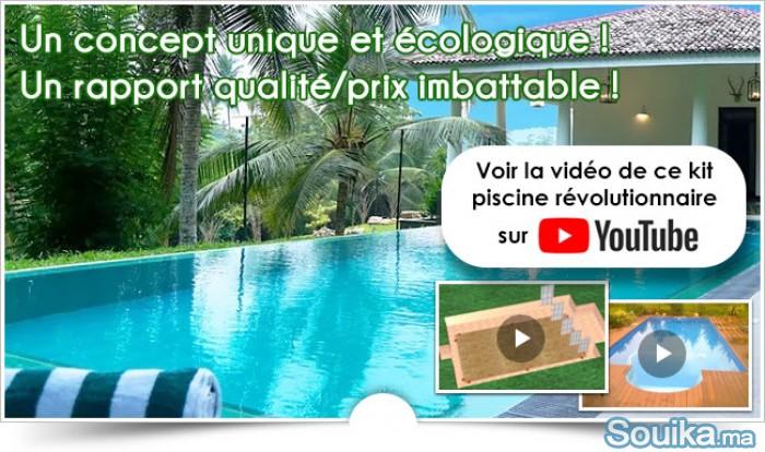 kit de piscine revolutionnaire