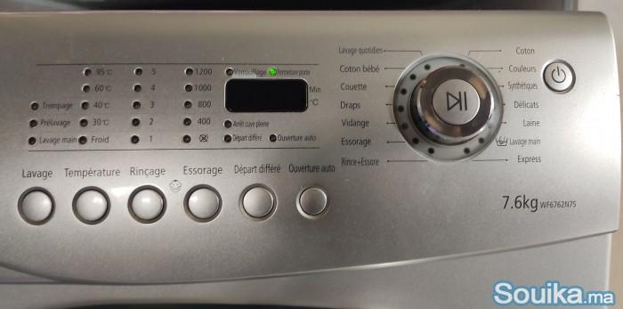 Machine à laver Samsung 76 Kg 1200