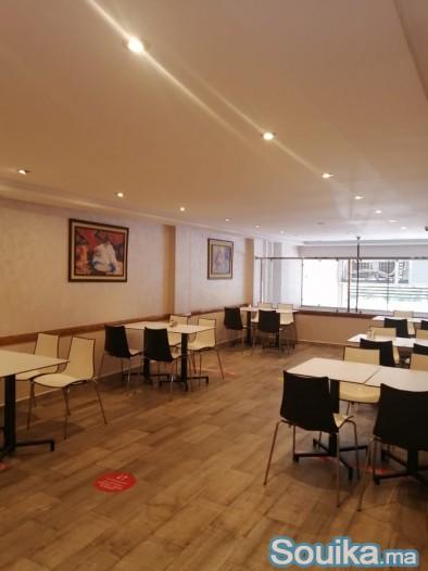 café restaurant en vente équipe prix de 8000000dh