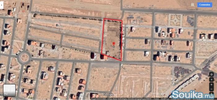 Terrain titré de 4680m à Oujda-LazaretAl Fath