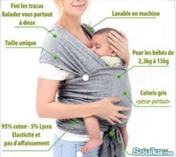 Écharpe de portage. Porte bébé ركاب