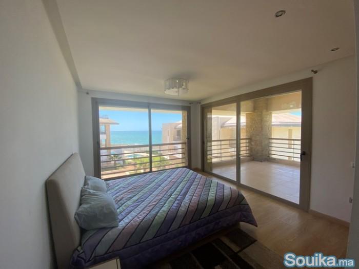 Location journalier d'un villa meublée à la plage