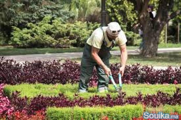 Agent de sécurité jardinier