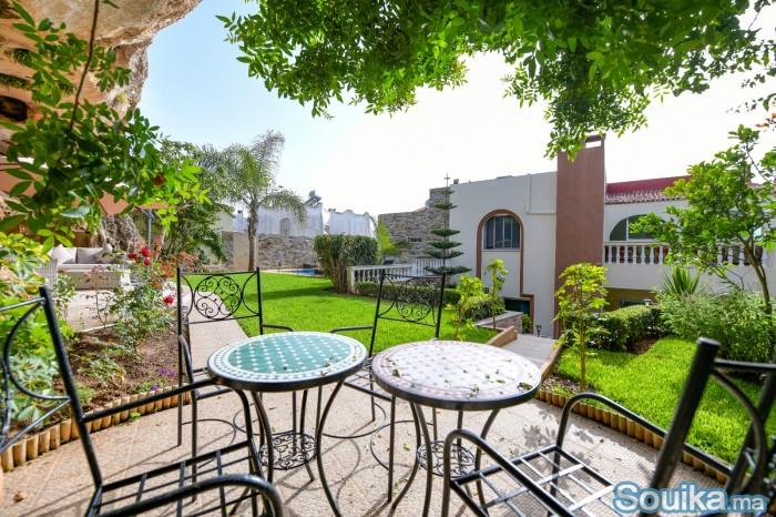 Location journalier villa avec piscine à Harhoura