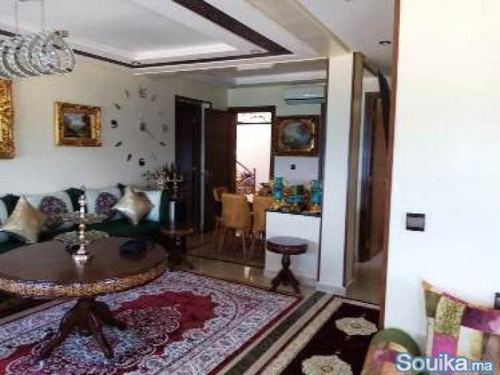 Location d'un appartement meublé à rabat
