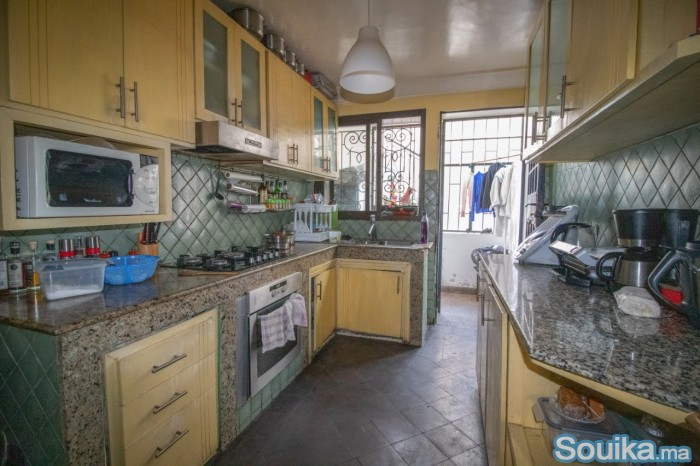 Appartement de 126m2 à MAARIF BD BIRANZARANE
